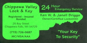 Chippewa Valley Lock & Key LLC