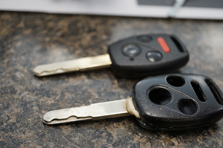 Laser Cut Car Keys