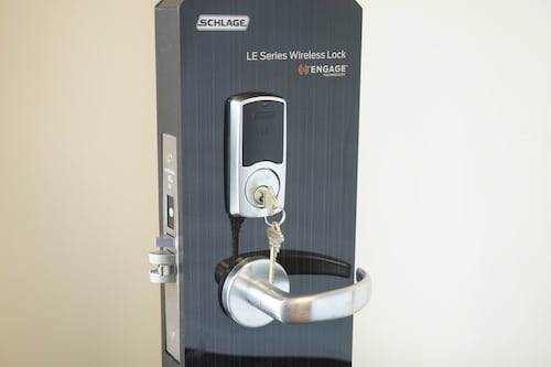 commercial smart lock installation