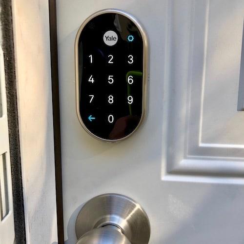 residential smart lock installation