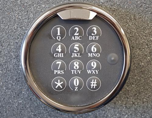 safe keypad locked