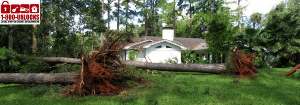 home security in a disaster